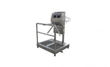Компактна хигиенна станция с вана за дезинфекция на подметки 10.4101.02