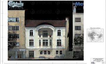 Лазерно сканиране в София-Център - Геокад 93 ЕООД