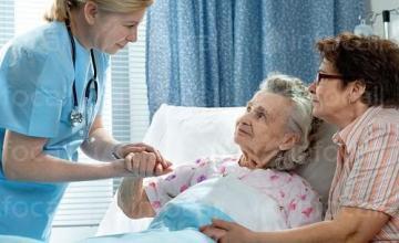 Медицинско обслужване на възрастни хора с физически увреждания - ДВХФУ БАНКЯ