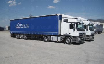 Международен транспорт Враца - Спътник 96