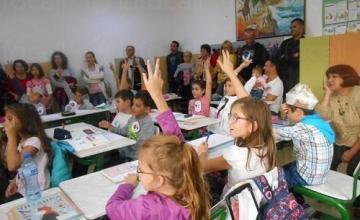 Обучение на ученици - ОУ Васил Априлов град Бургас