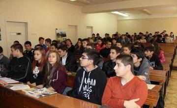 Обучение на ученици от 8 до 12 клас - ПГ по КТС Правец