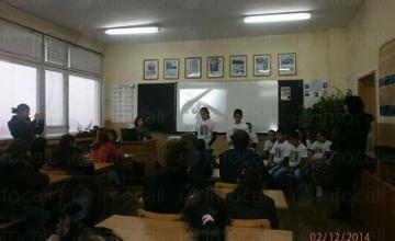 Обучение на ученици във Видин