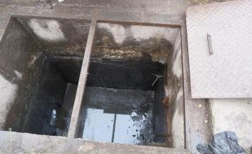 Отводняване на канали и шахти в София