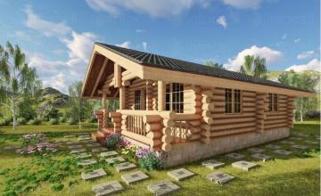 Продажба дървени сглобяеми къщи София-Горубляне