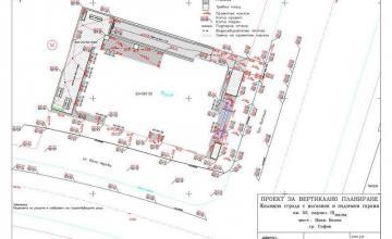 Проекти за вертикално планиране в София-Център - Геокад 93 ЕООД