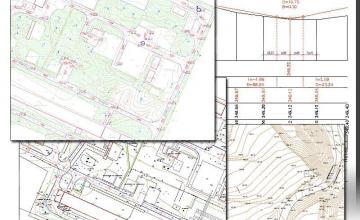 Проектиране за вертикална планировка София-Красно село - Геодезия и кадастър София