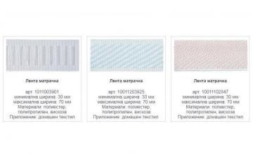 Производство на текстилни ленти в София-Хаджи Димитър
