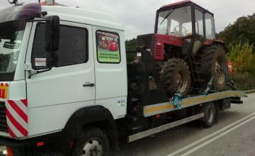 Репатриране на трактори в Силистра - Пътна помощ Важо