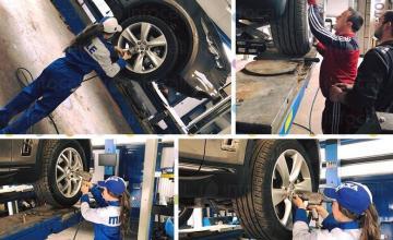 Смяна на гуми и джанти в Монтана - Хелас 2014 ЕООД
