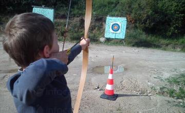 Стрелба с лък и пушка в Бачево, Разлог, Банско