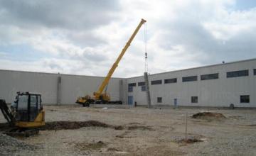 Строителство промишлени сгради в Севлиево