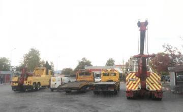 Тежкотоварна пътна помощ Ябланица и Ботевград-автомагистрала Хемус