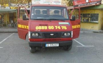 Товарни превози със самосвал до 3.5 тона Благоевград - Иво Донев