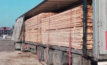 Транспорт дървен материал Сърница-Велинград