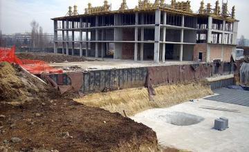 Трасиране на сгради в София-Център - Геокад 93 ЕООД