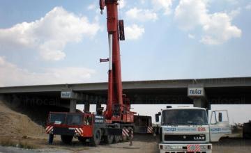 Услуги с кранова техника в Пловдив и Карлово - Товароподемни услуги