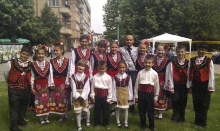 Детски танцов състав Мегданче - НЧ Просвета - 1911 г. Гълъбово