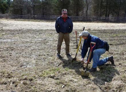 Изработка на почвени проби в Троян - Институт по планинско животновъдство и земеделие