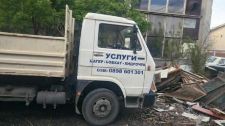 Извозване строителен отпадък - Марис-МС ООД
