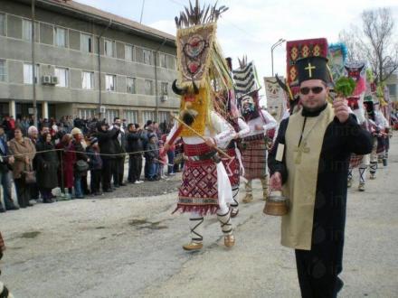 Кукерска група в Айдемир-Силистра - НЧ Родолюбие 2006 Айдемир