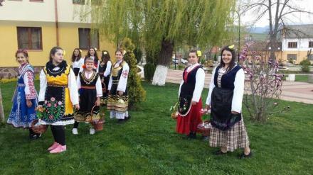 Лазарска и коледарска група в Чавдар-София - Народно читалище Надежда