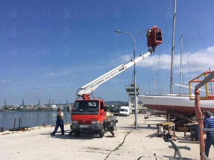 Монтаж на улични стълбове във Варна - Пеърс ЕООД