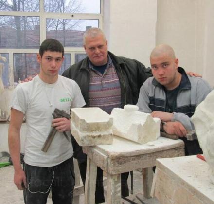 Обучение по професия Скулптор в област Враца - Каменоделно училище Кунино