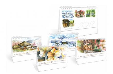 Печат на визитки и календари в Русе - Студио Колор ЕООД