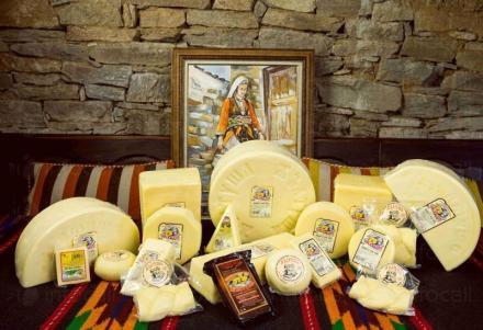 Производство на кашкавал в община Ардино - Мандра Жълтуша