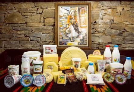 Производство на кисело мляко в община Ардино - Мандра Жълтуша
