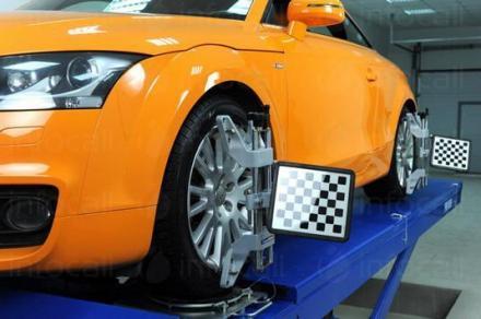 Регулиране на преден и заден мост с 3D стенд в Плевен - Ремонт автомобили Плевен