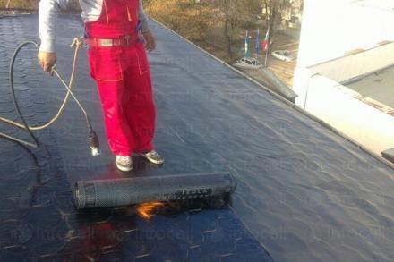 Ремонт на покрив с хидроизолация в София-Възраждане - Строн Строй