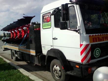 Репатриране на инвентар в Силистра - Пътна помощ Важо